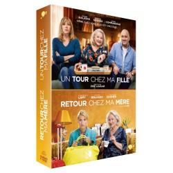 UN TOUR CHEZ MA FILLE + RETOUR CHEZ MA MERE - COFFRET DVD