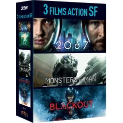 3 FILMS D'ANTICIPATION : BLACKOUT / 2067 / MONSTERS OF MAN