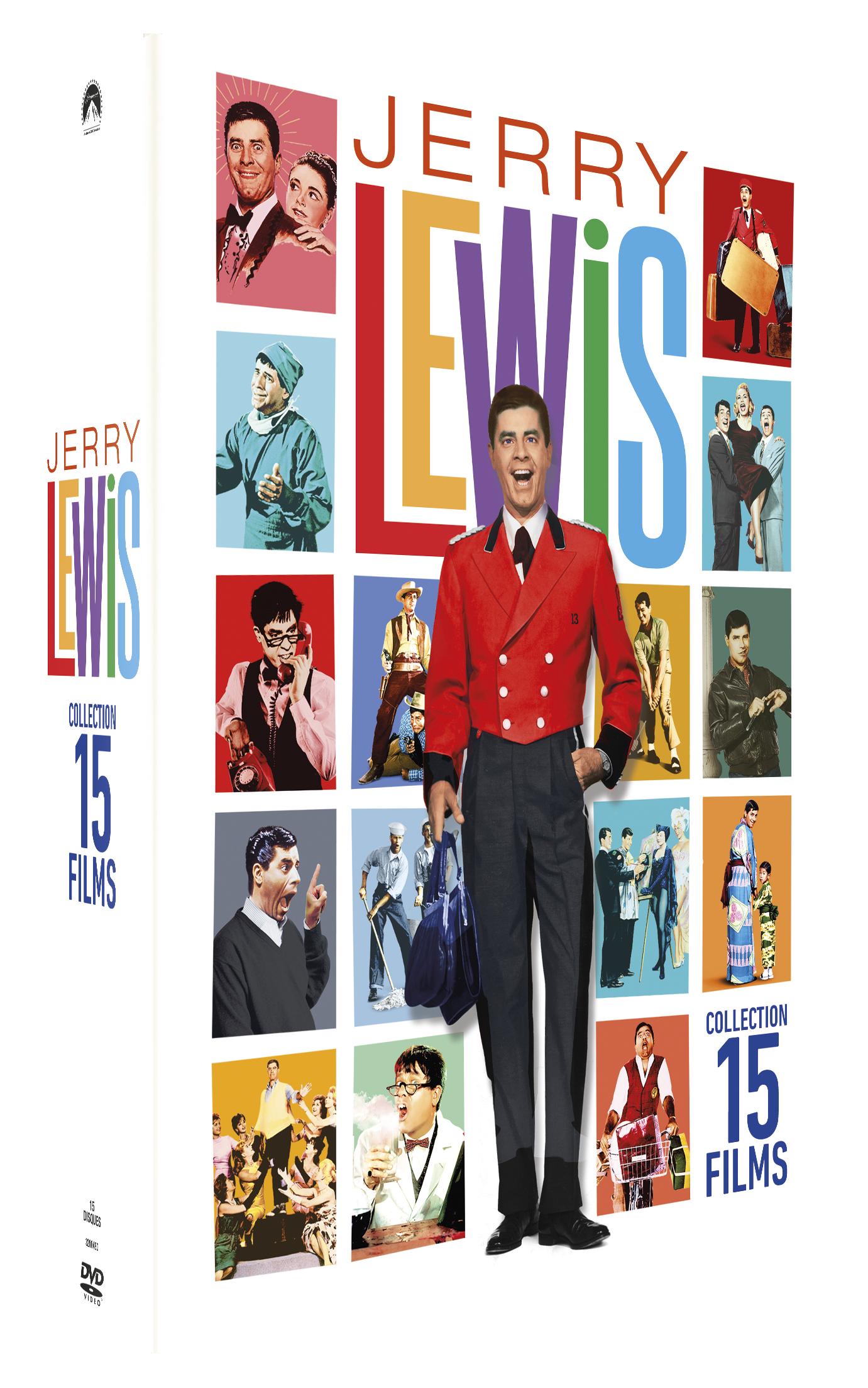COFFRET JERRY LEWIS 15 FILMS
