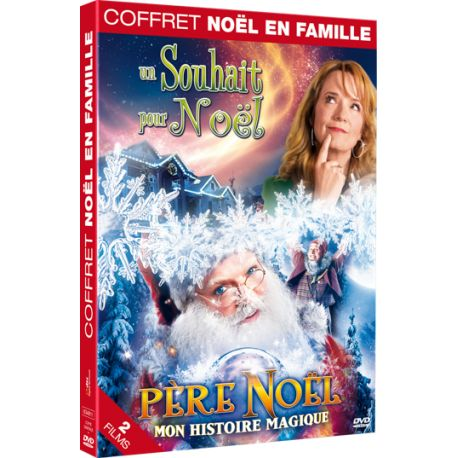 COFFRET NOEL EN FAMILLE : UN SOUHAIT POUR NOEL + PÈRE NOEL MON HISTOIRE MAGIQUE