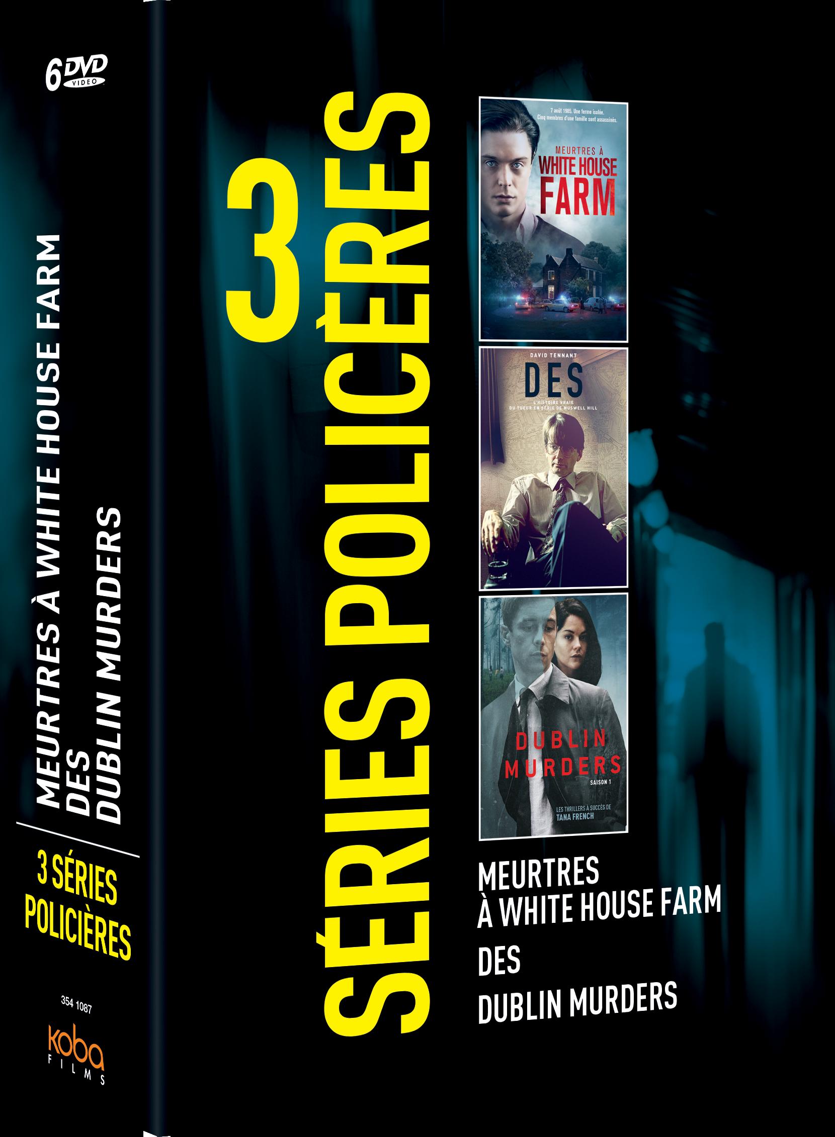 3 SERIES CRIMINELLES : DES / DUBLIN MURDERS / MEURTRES À WHITE HOUSE FARM