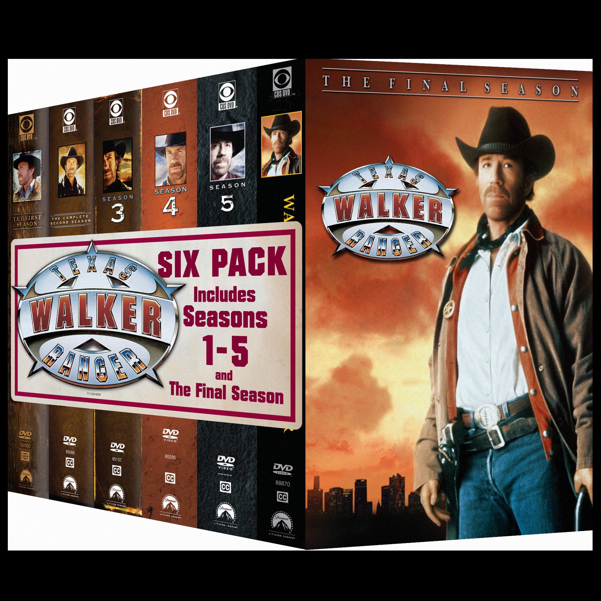 WALKER, TEXAS RANGER - SAISON 1 À 6