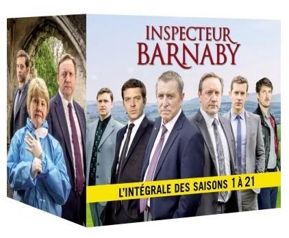 COFFRET INSPECTEUR BARNABY L'INTEGRALE