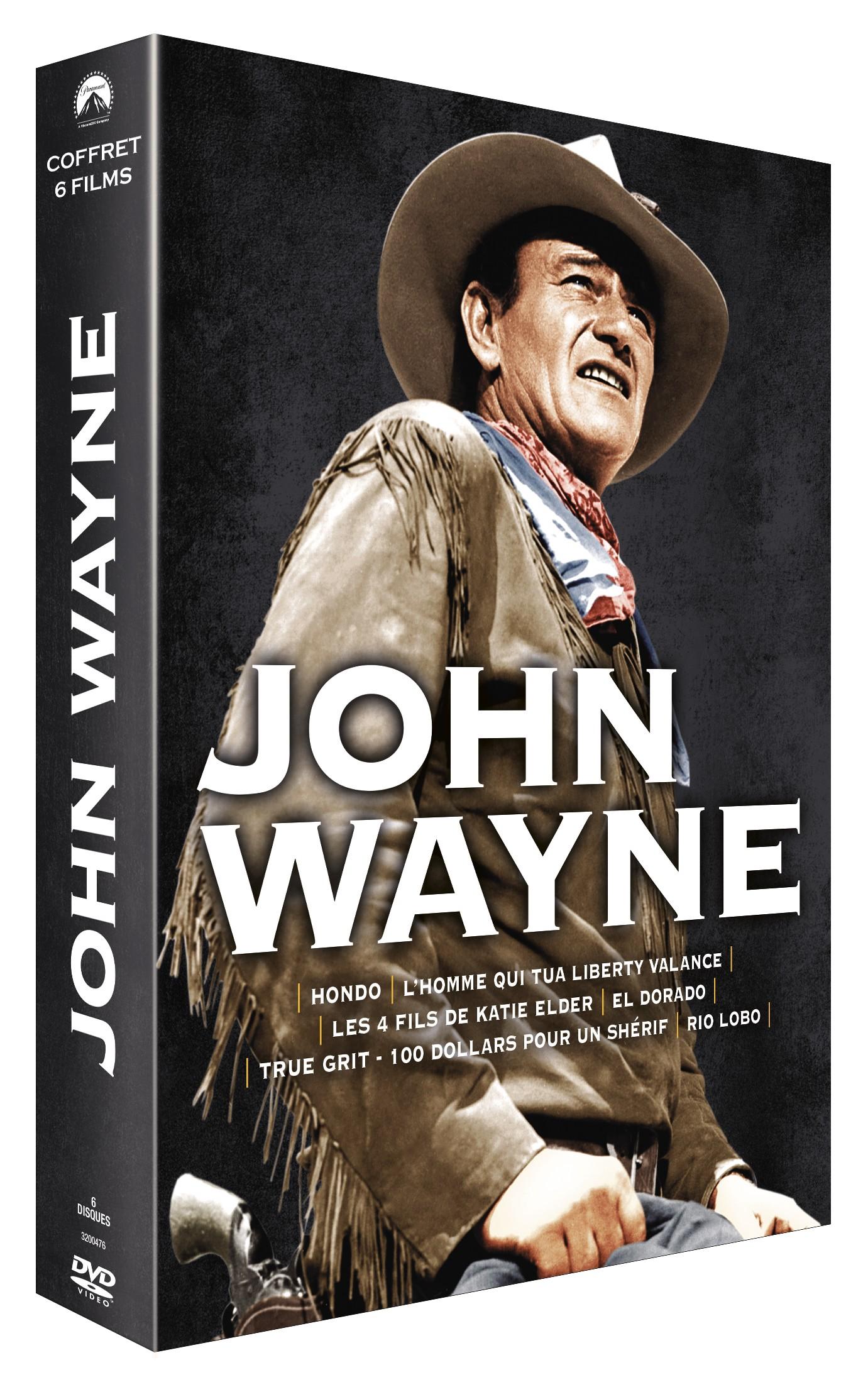 COFFRET JOHN WAYNE