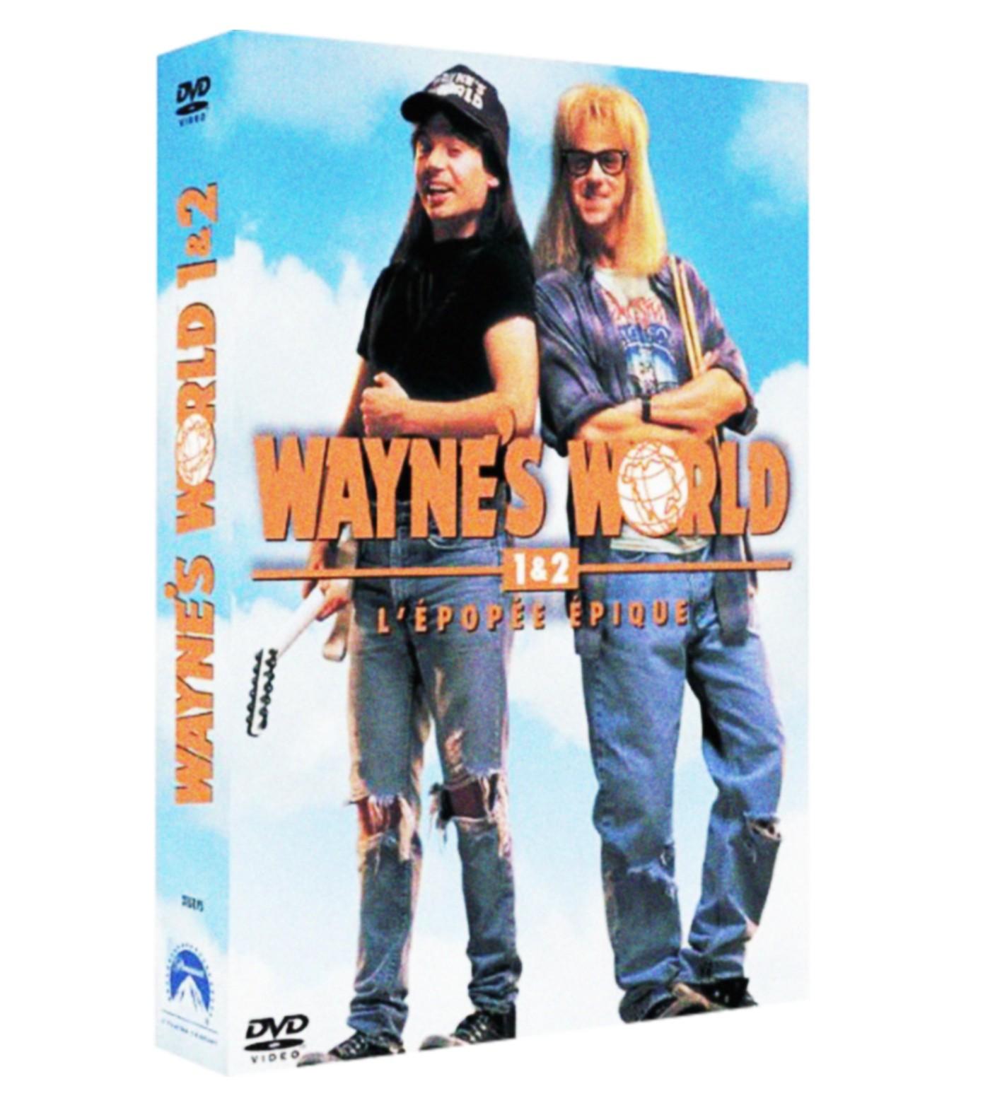 WAYNE'S WORLD 1 + 2