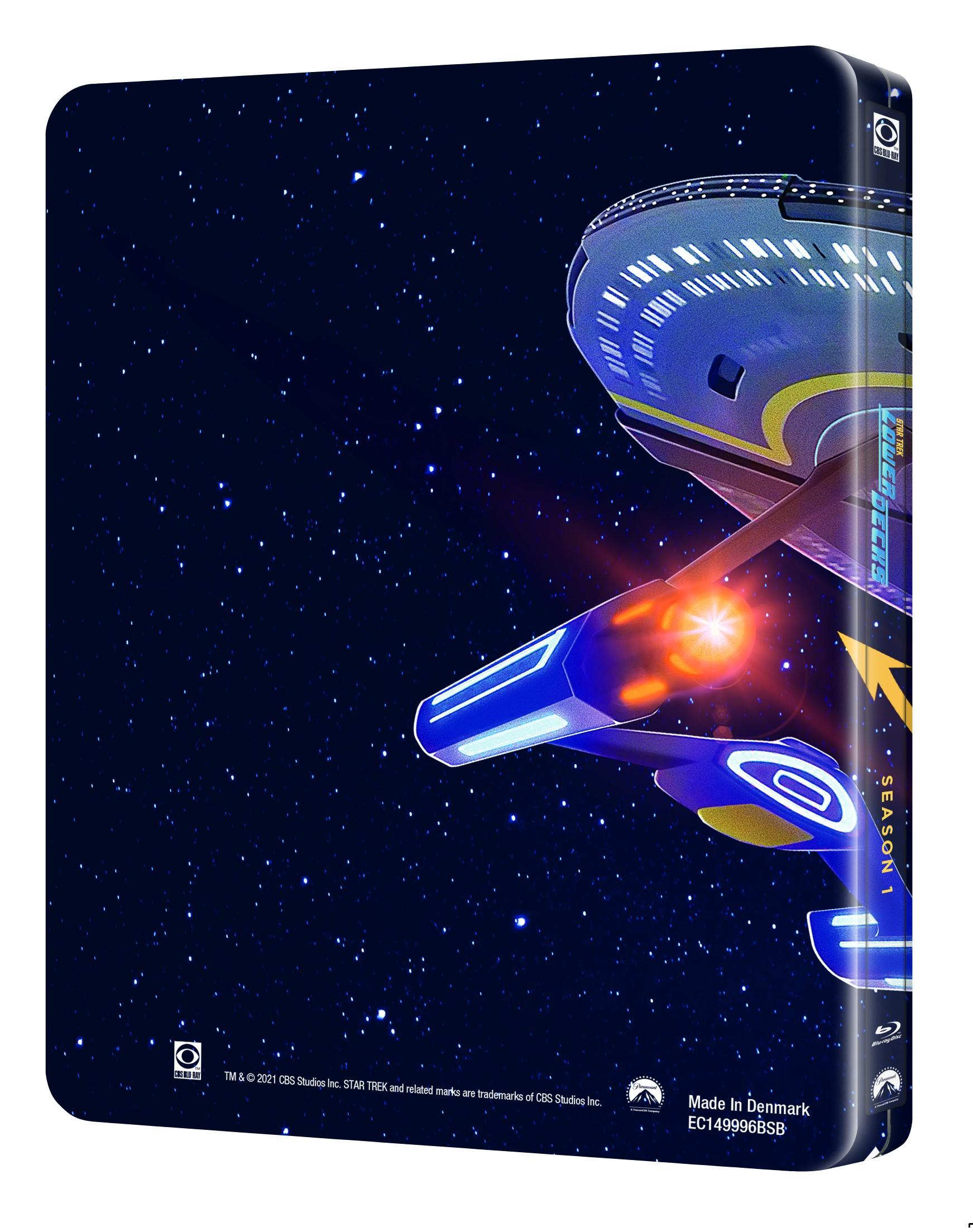 STAR TREK LOWER DECKS SAISON 1 - STEELBOOK ÉDITION LIMITÉE BRD