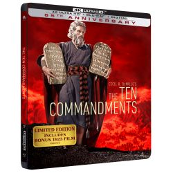 LES 10 COMMANDEMENTS - UHD 4K - STEELBOOK EDITION LIMITEE