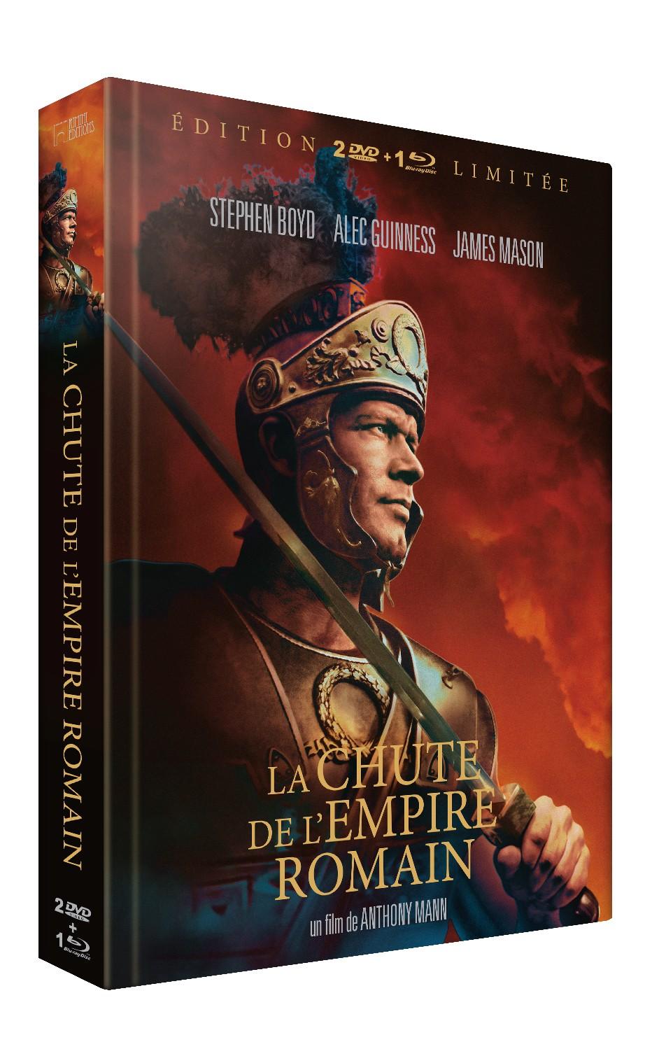 LA CHUTE DE L'EMPIRE ROMAIN ÉDITION LIMITÉE - DVD + BRD