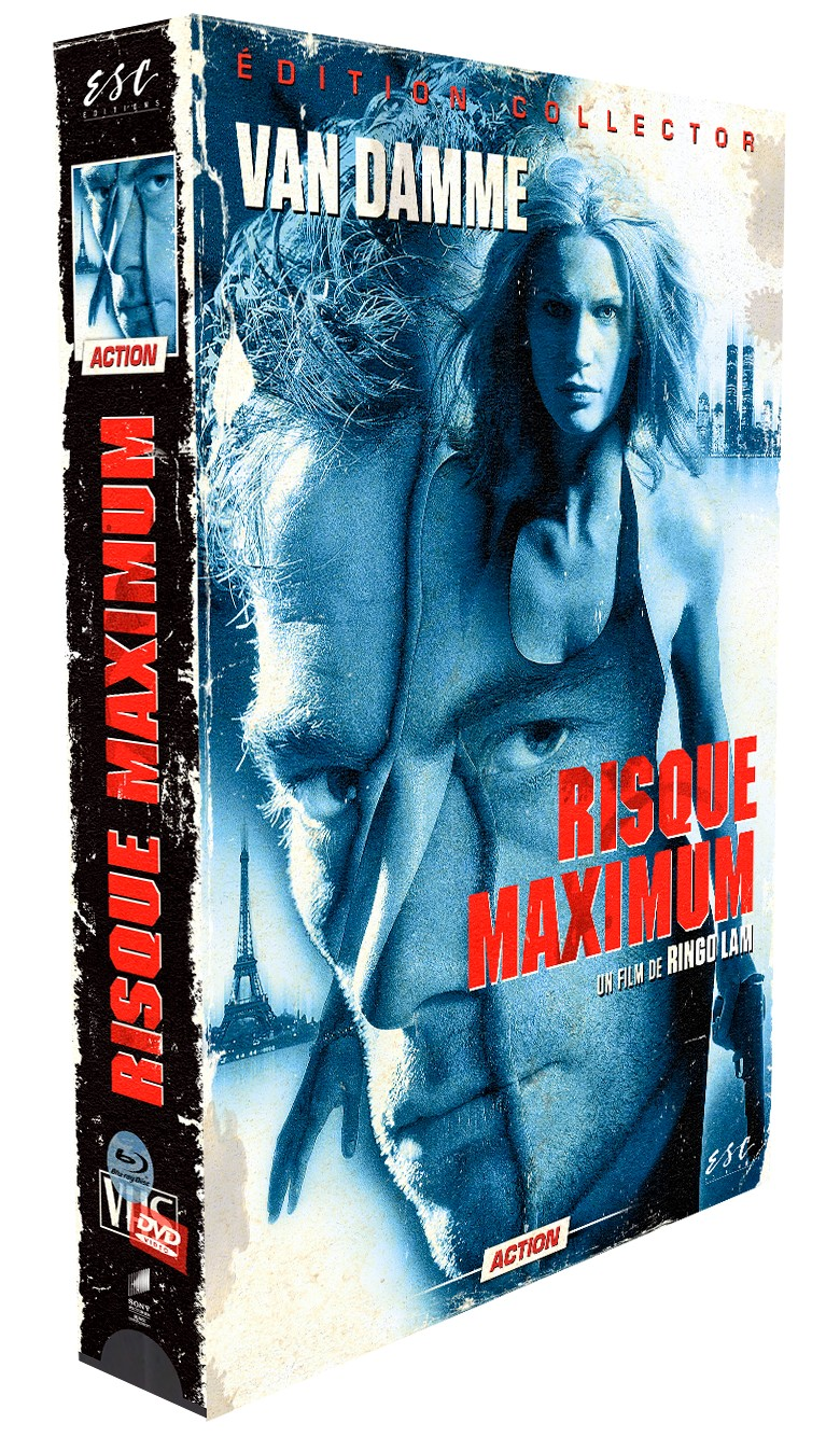 RISQUE MAXIMUM - EDITION COLLECTOR LIMITÉE BOITIER VHS