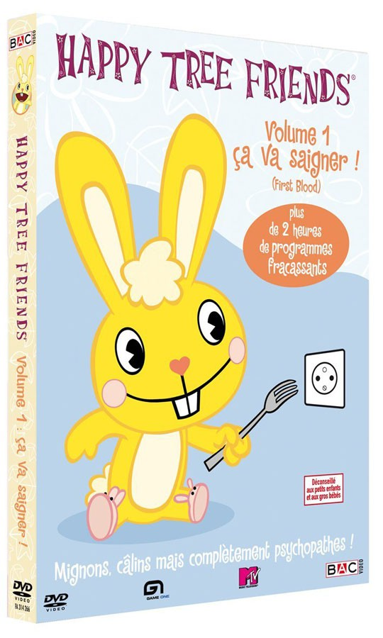 HAPPY TREE FRIENDS - SAISON 1, VOL. 1 : CA VA SAIGNER !