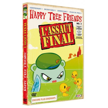 HAPPY TREE FRIENDS - SAISON 1, VOL. 3 : L'ASSAUT FINAL