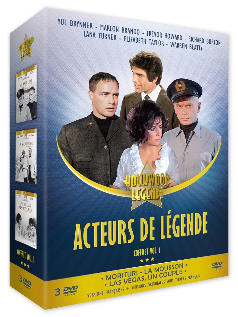 ACTEURS DE LEGENDE VOL. 1