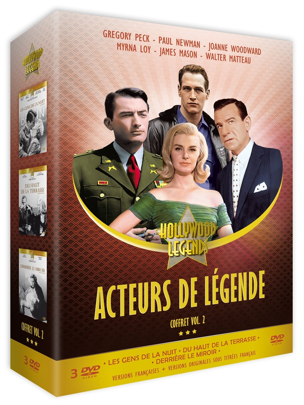 ACTEURS DE LEGENDE VOL. 2