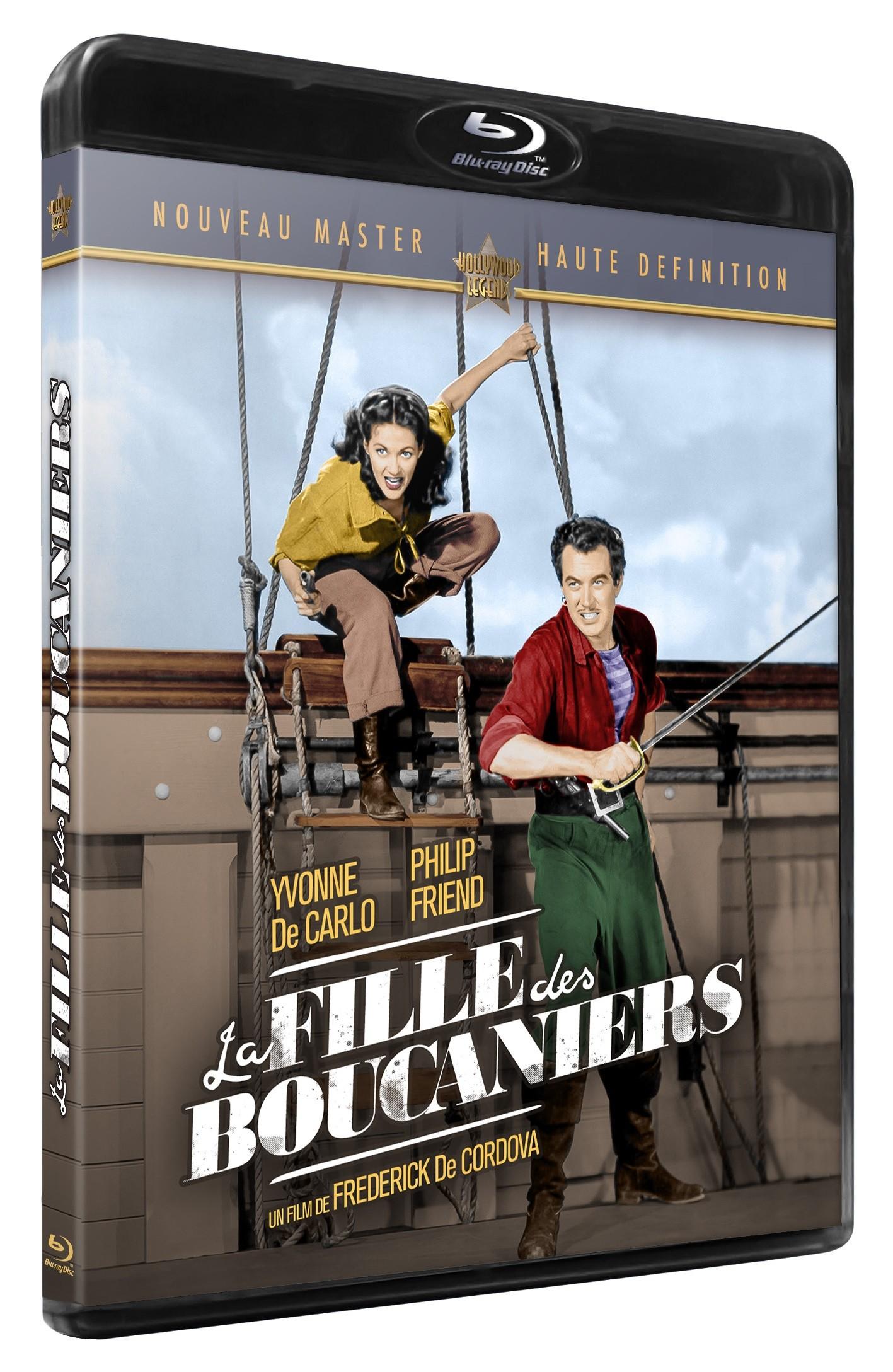 LA FILLE DES BOUCANIERS - BRD
