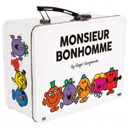 MONSIEUR BONHOMME COFFRET 4 DVD VALISETTE METAL