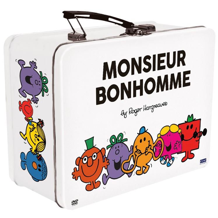 MONSIEUR BONHOMME COFFRET 4 DVD VALISETTE METAL