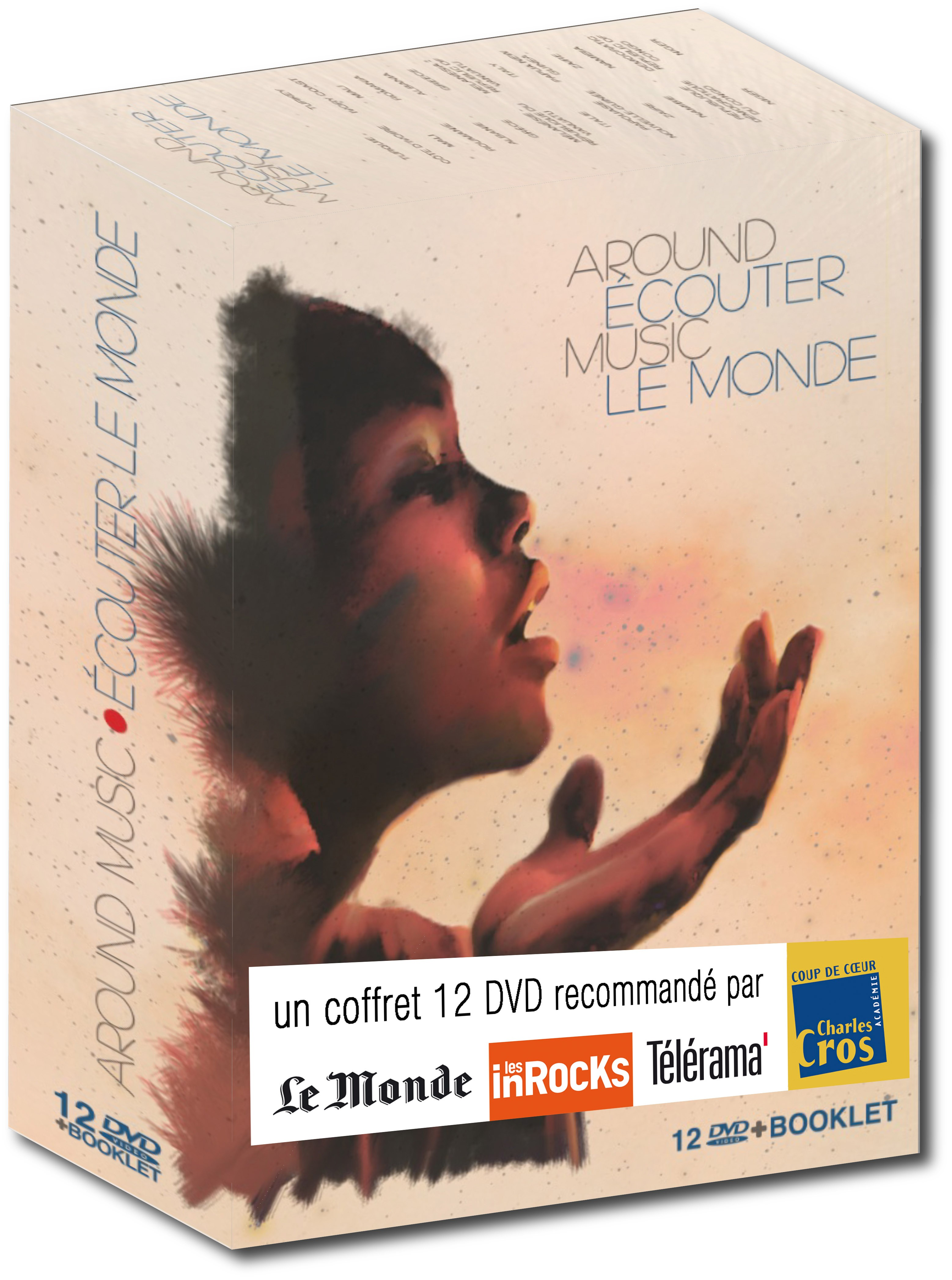 AROUND MUSIC, ECOUTER LE MONDE - COFFRET 12 DVD