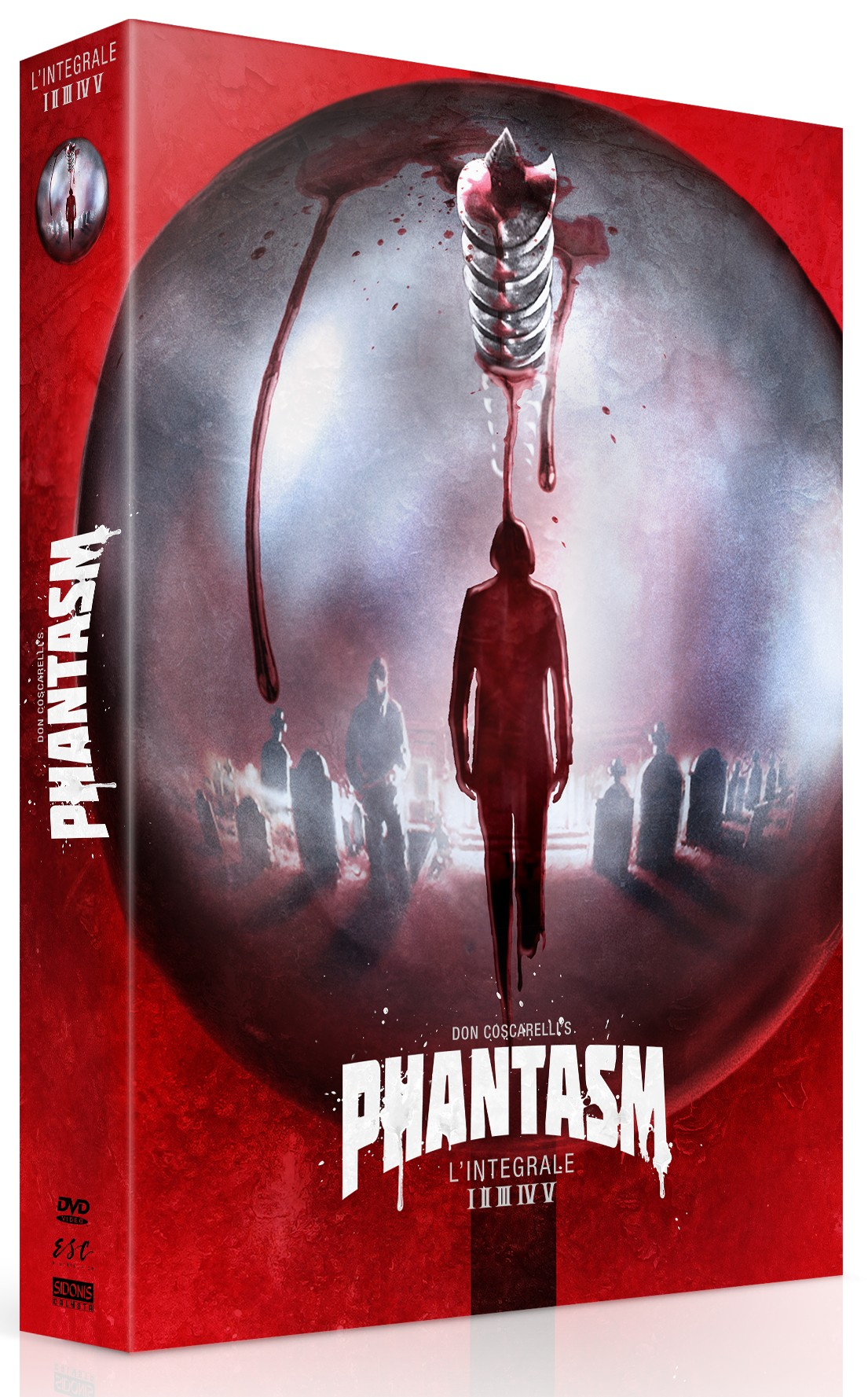 PHANTASM L'INTEGRALE CULT'EDITION DVD COLLECTOR