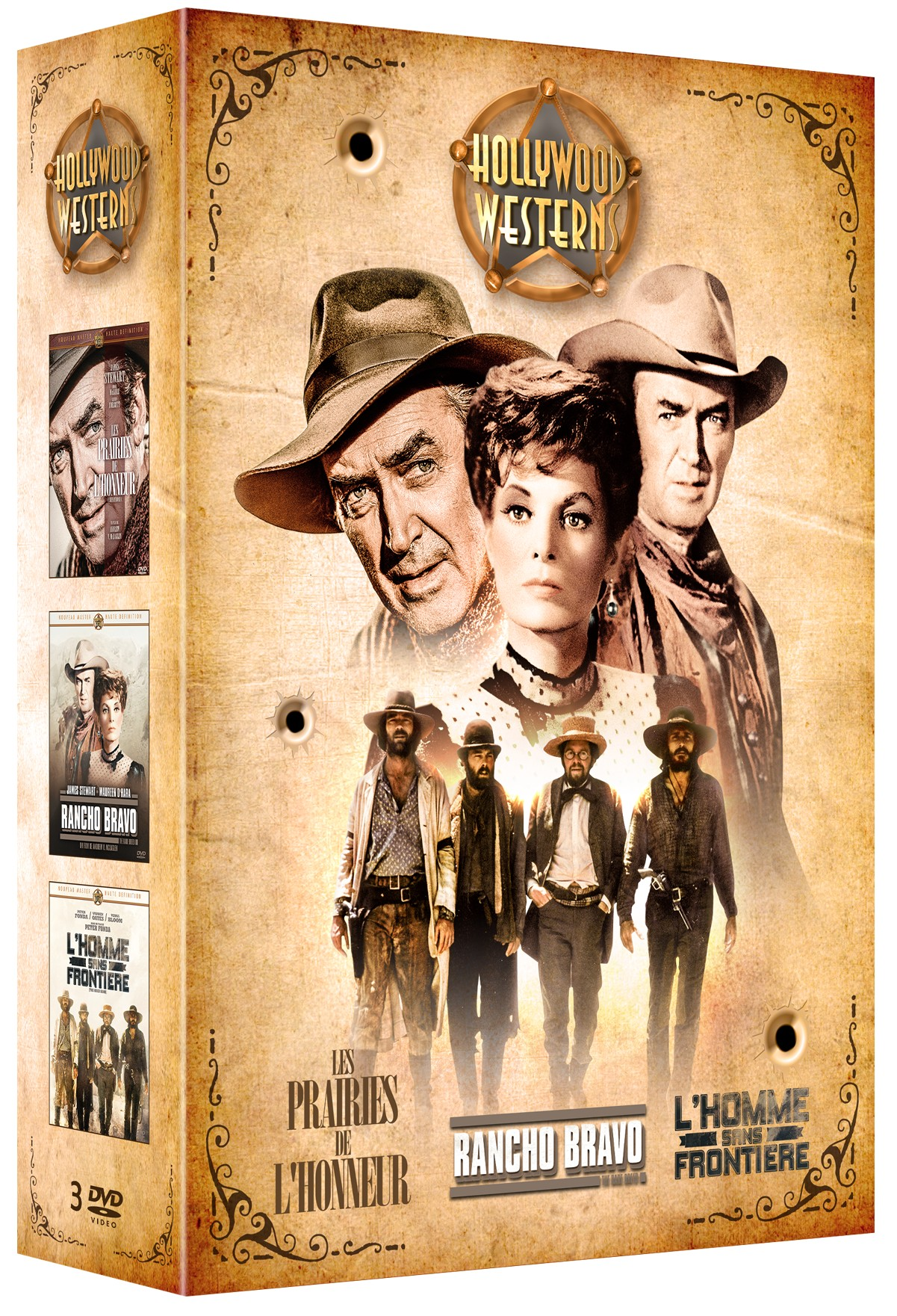 COFFRET 3 WESTERNS DE LEGENDE