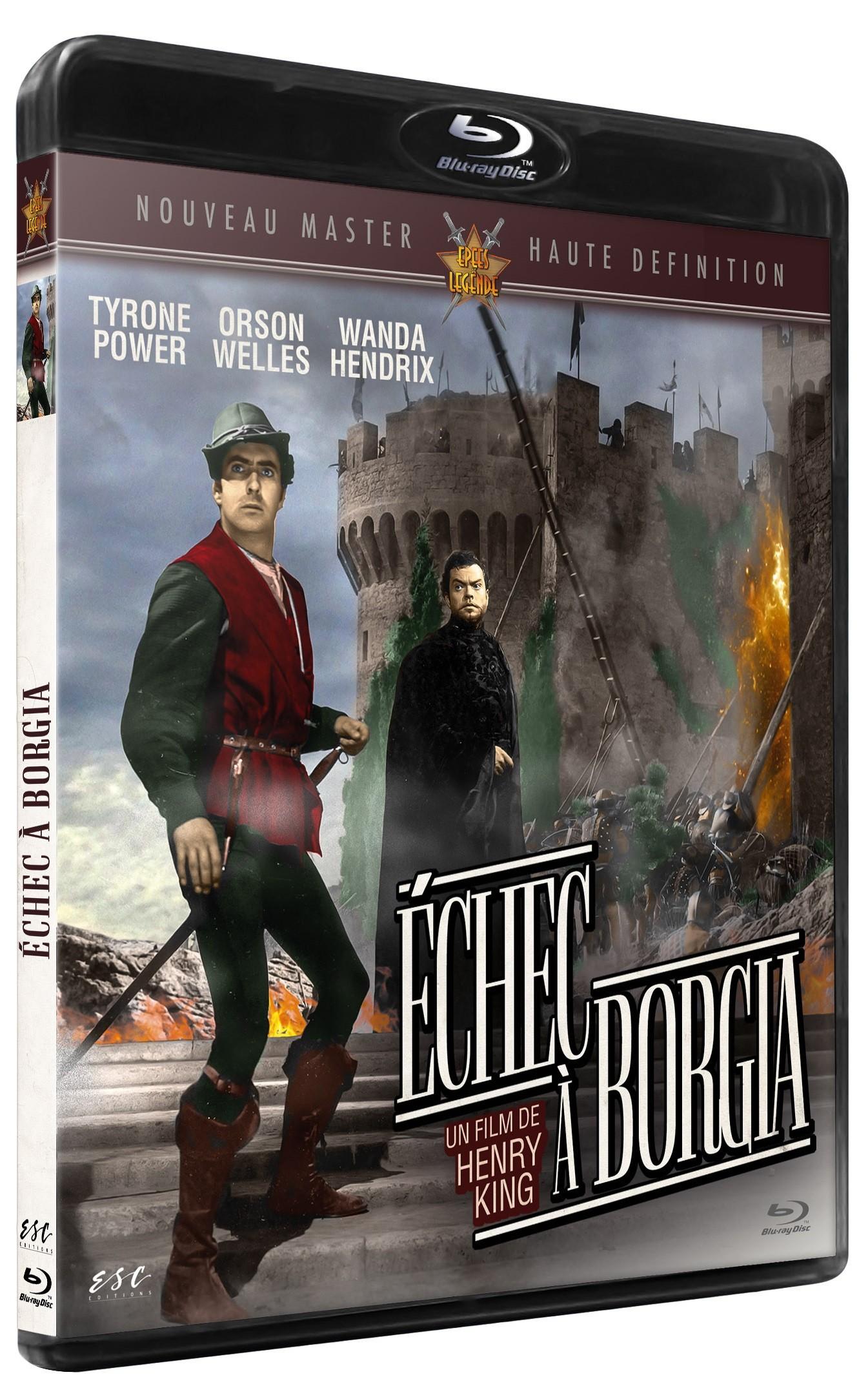 ECHEC A BORGIA