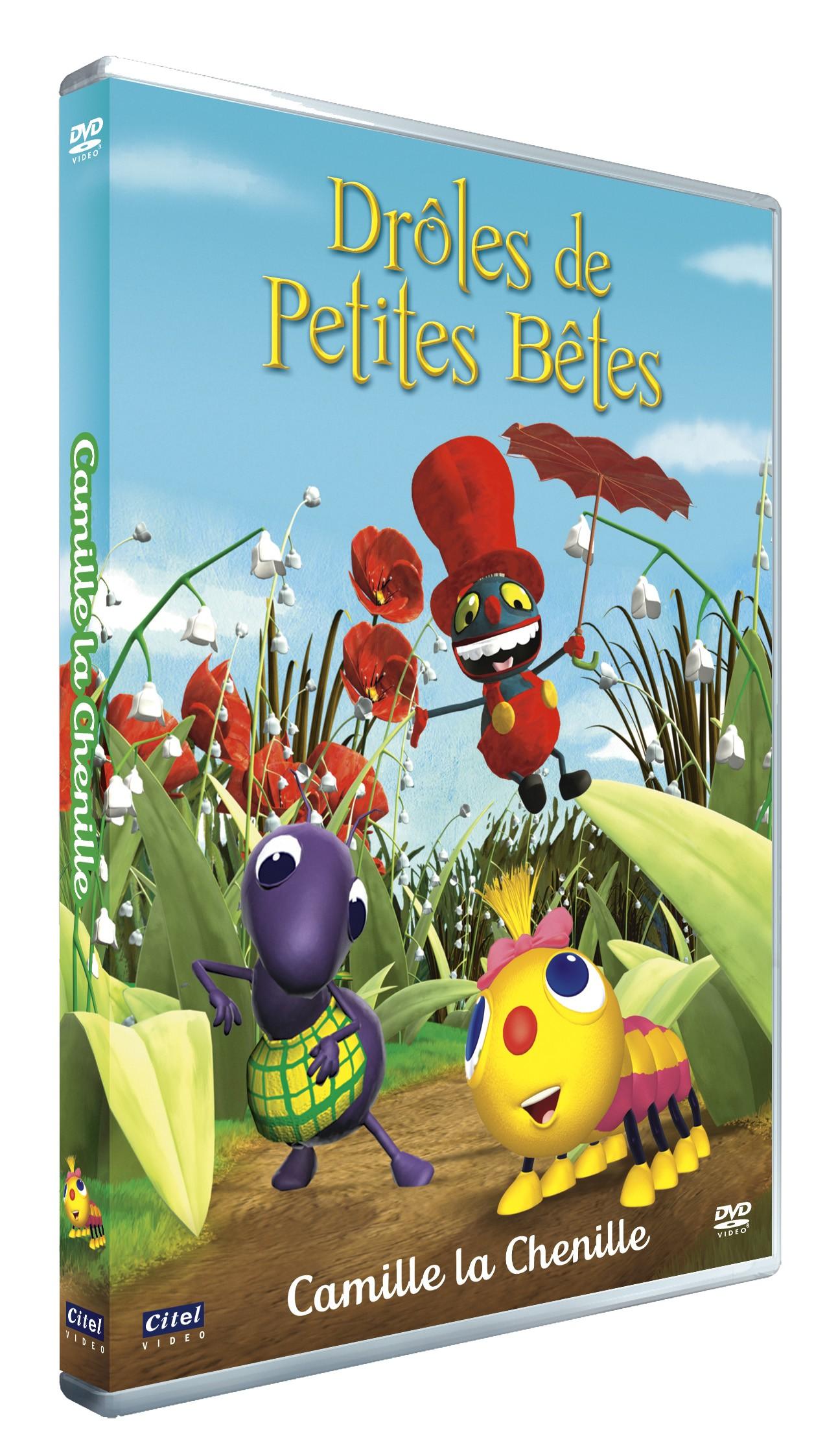 DROLES DE PETITES BETES - CAMILLE LA CHENILLE