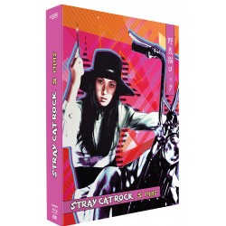 STRAY CAT ROCK COFFRET - SEX HUNTER - FFEMALE BOSS - MACHNE ANIMAL - WILD JUMBO - BEAT '71