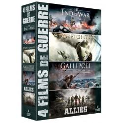 4 FILMS DE GUERRE - COFFRET 4 DVD
