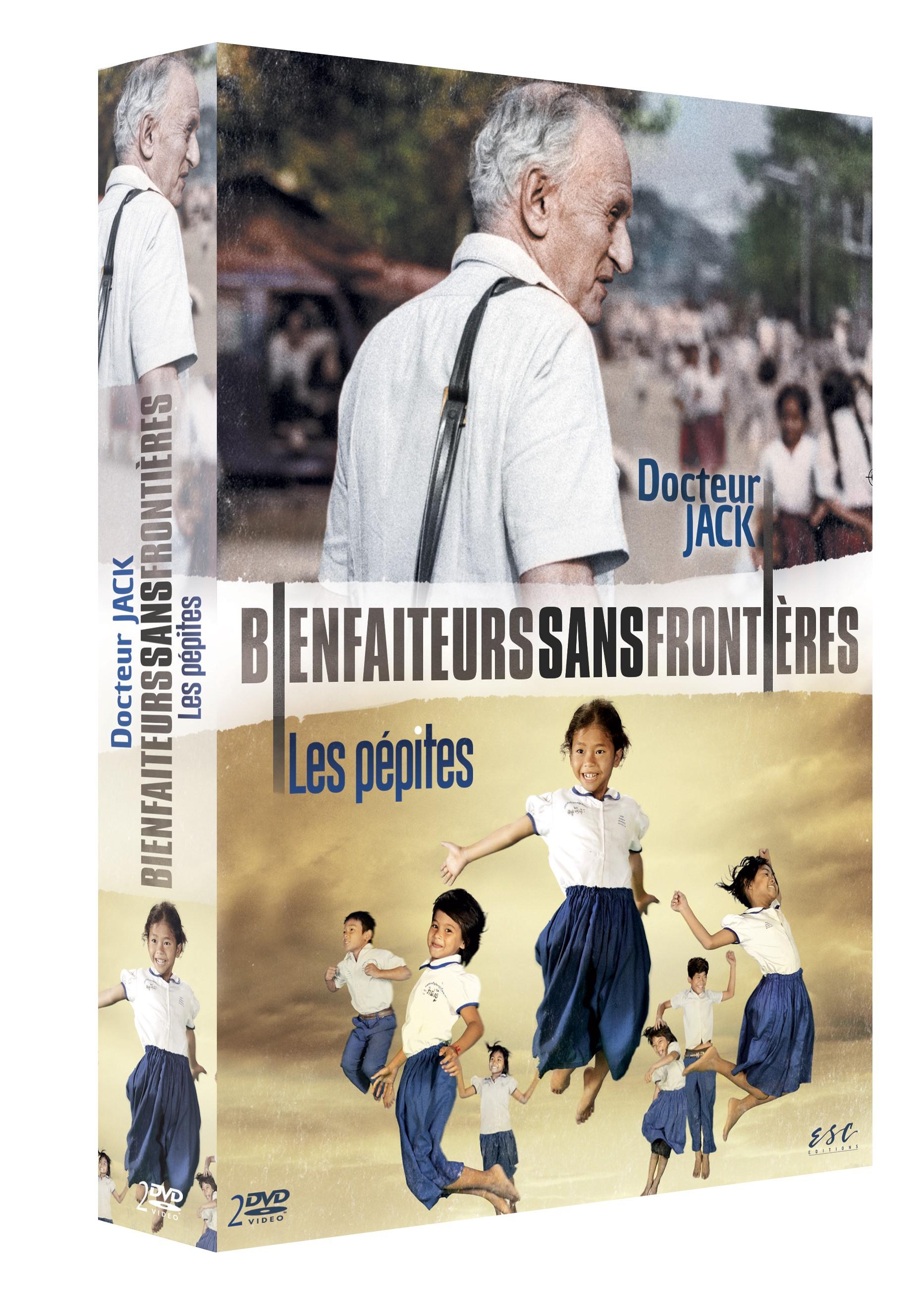 BIENFAITEURS SANS FRONTIÈRES : DOCTEUR JACK + LES PÉPITES