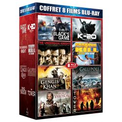 COFFRET 8 FILMS BLU-RAY