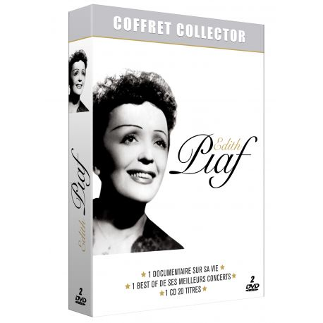 ÉDITH PIAF - COFFRET COLLECTOR