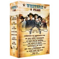 WESTERN - COFFRET 8 FILMS