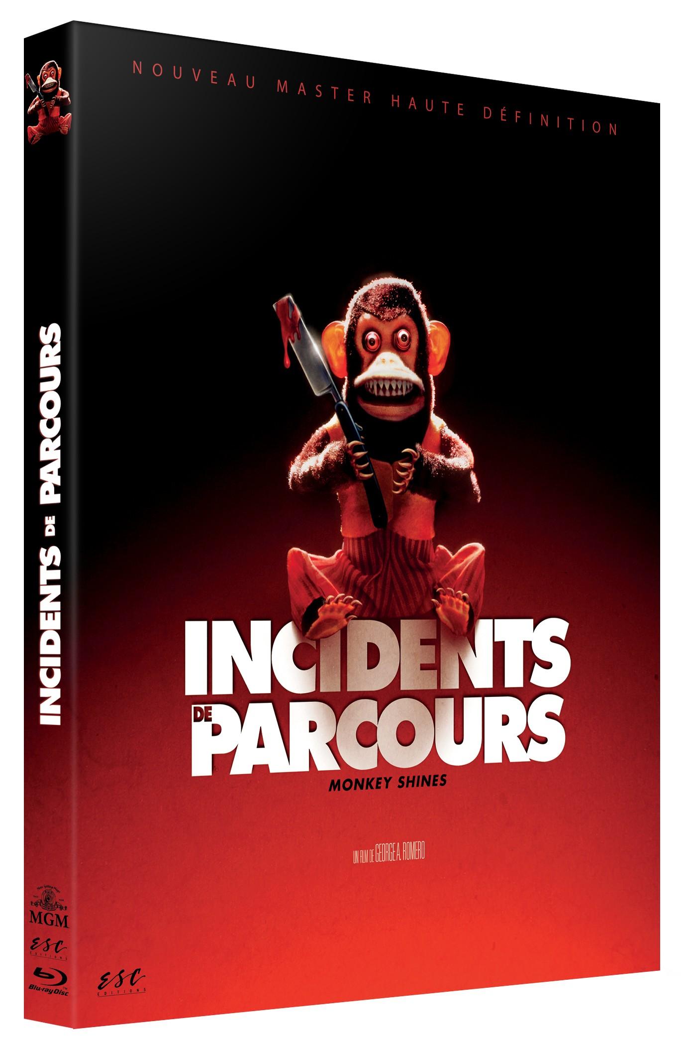 INCIDENTS DE PARCOURS - MONKEY SHINES - BRD