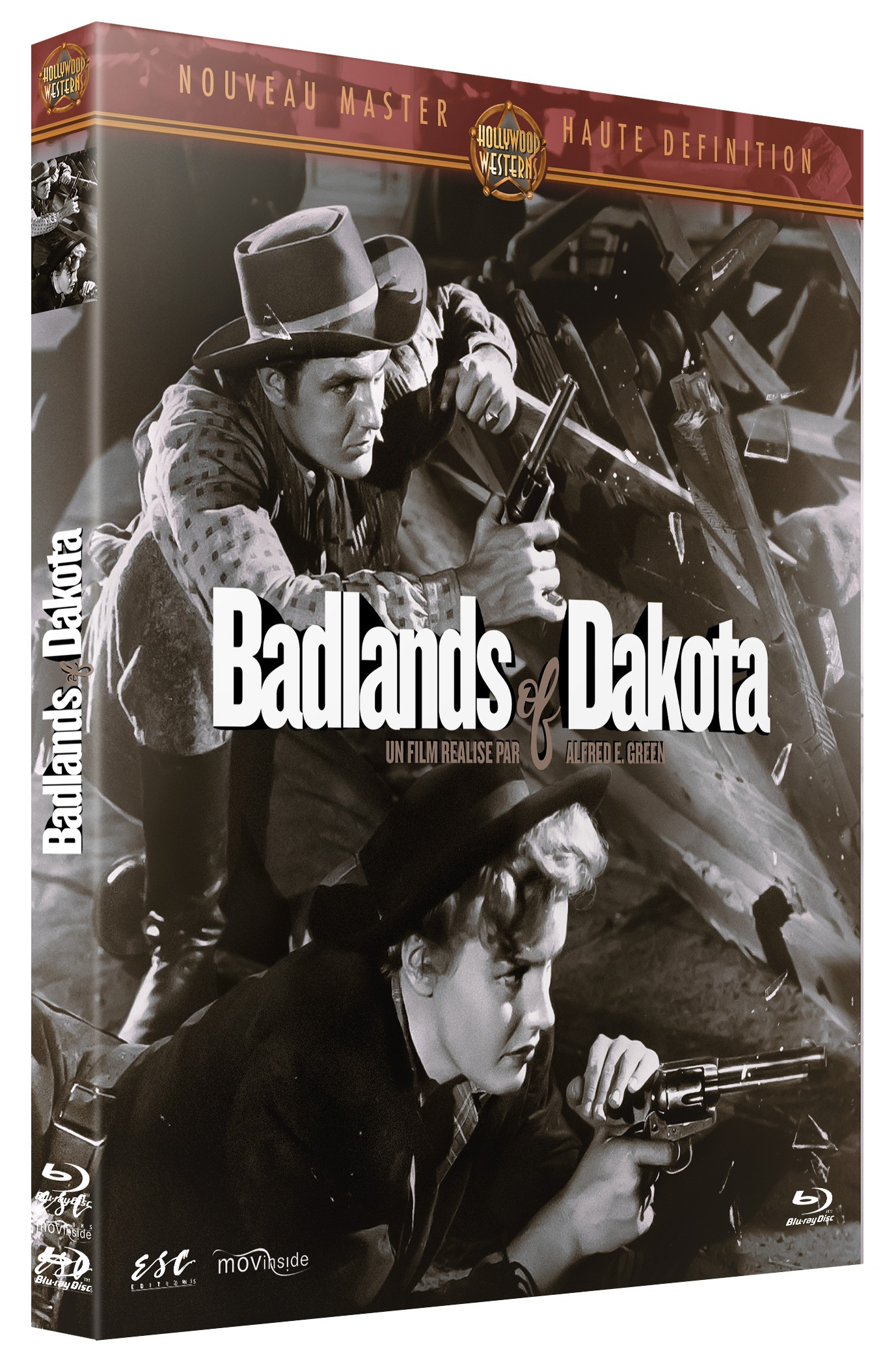 BADLANDS OF DAKOTA - BRD