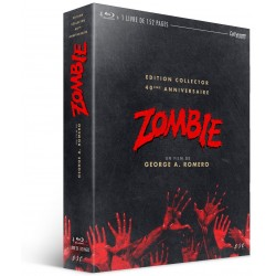 ZOMBIE - DAWN OF THE DEAD - COFFRET 4 BLU-RAY