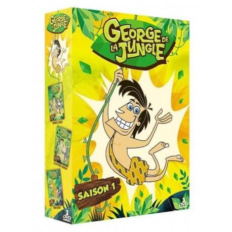 GEORGE DE LA JUNGLE - COFFRET 3 DVD : VOL. 1 + VOL. 2 + VOL. 3