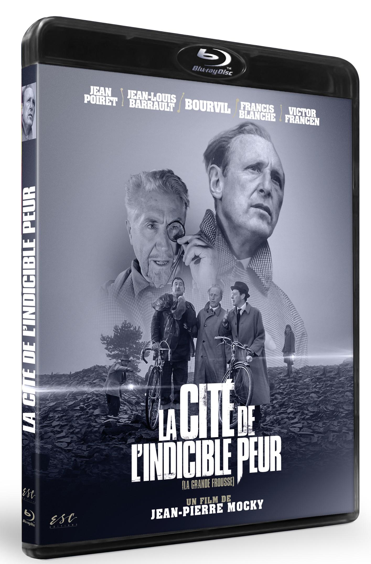 LA CITE DE L'INDICIBLE PEUR [LA GRANDE FROUSSE] - BRD