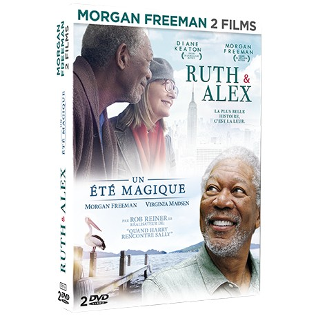 MORGAN FREEMAN - COFFRET 2 DVD