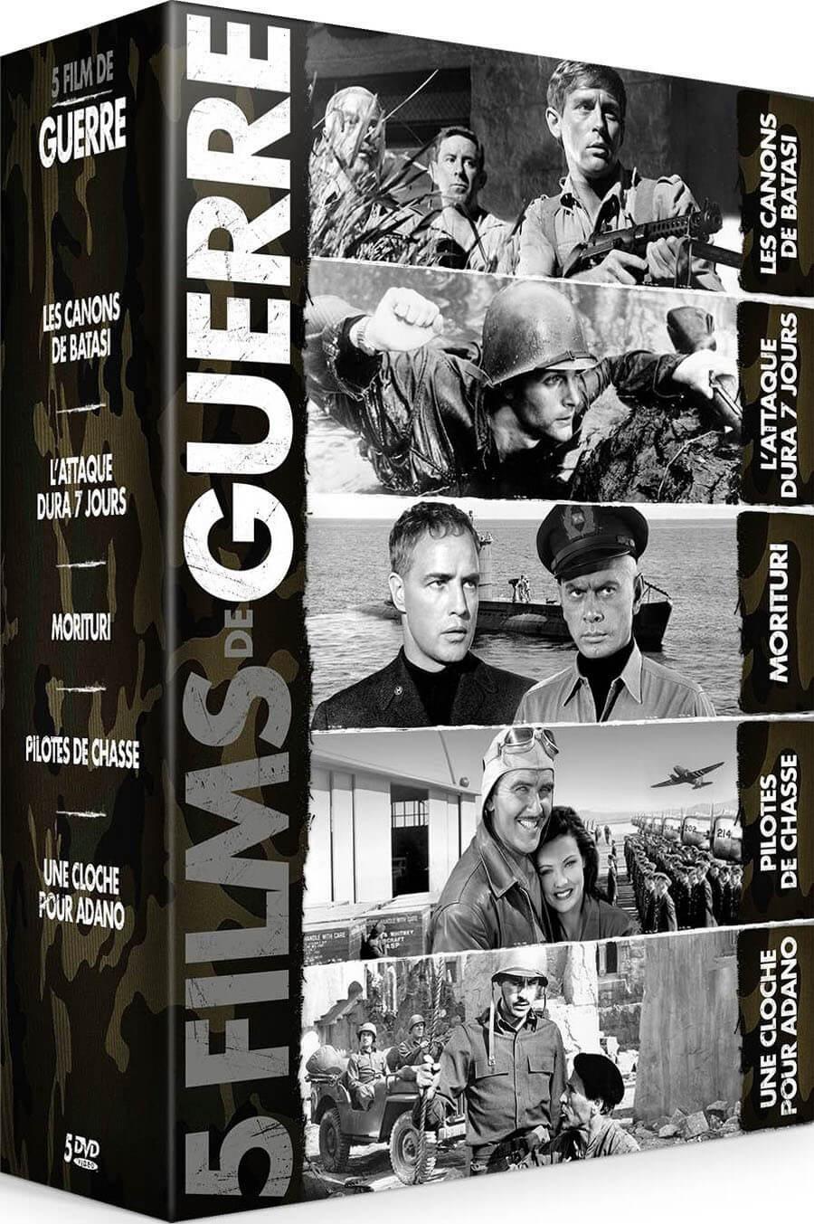 COFFRET GUERRE - 5 FILMS