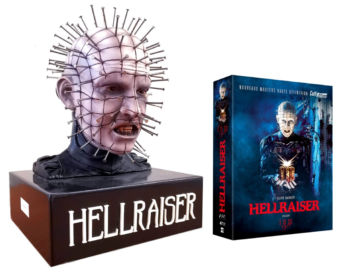 HELLRAISER BUSTE PINHEAD - EDITION COLLECTOR