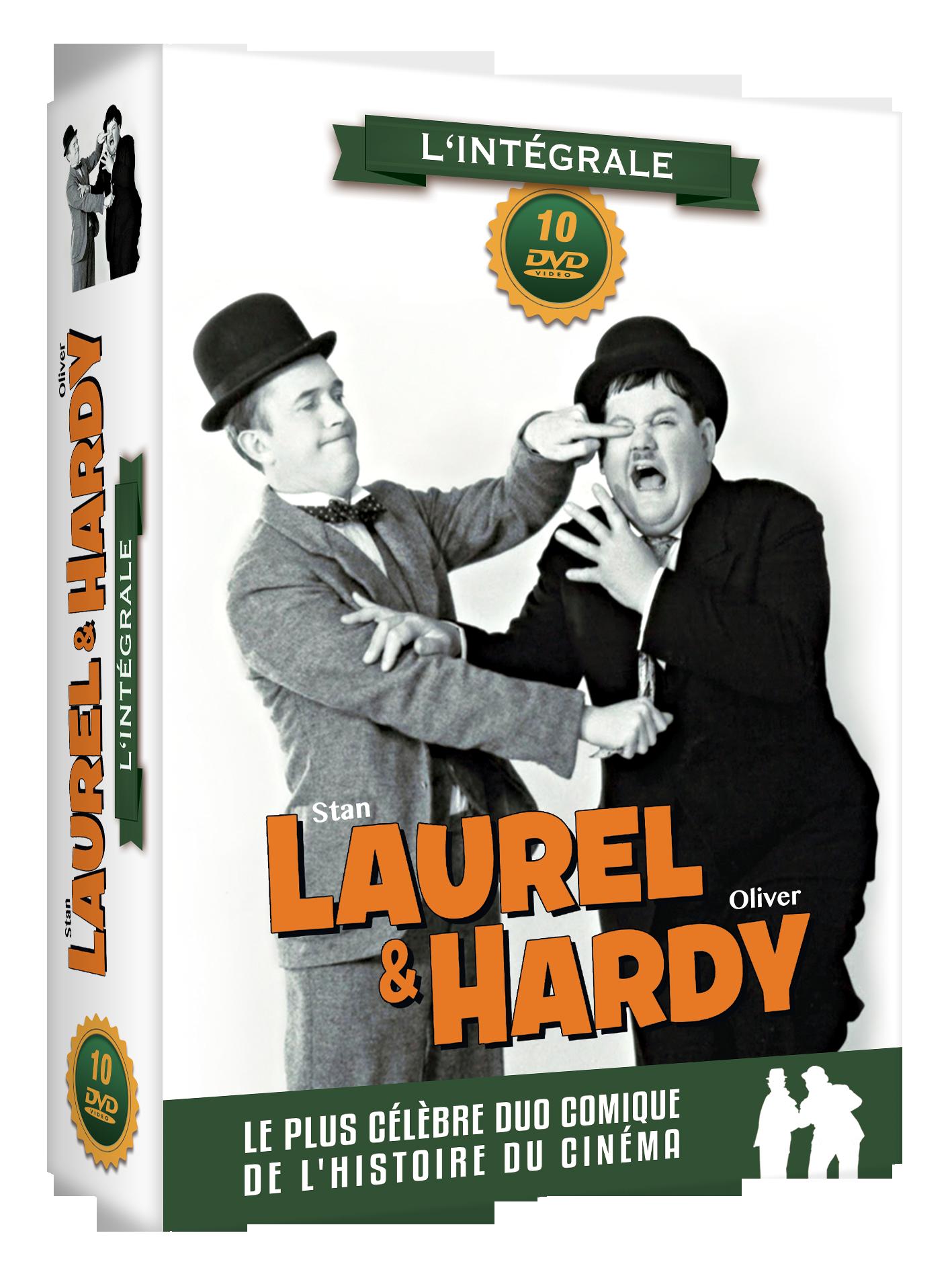 LAUREL ET HARDY : L'INTEGRALE COFFRET 10 DVD