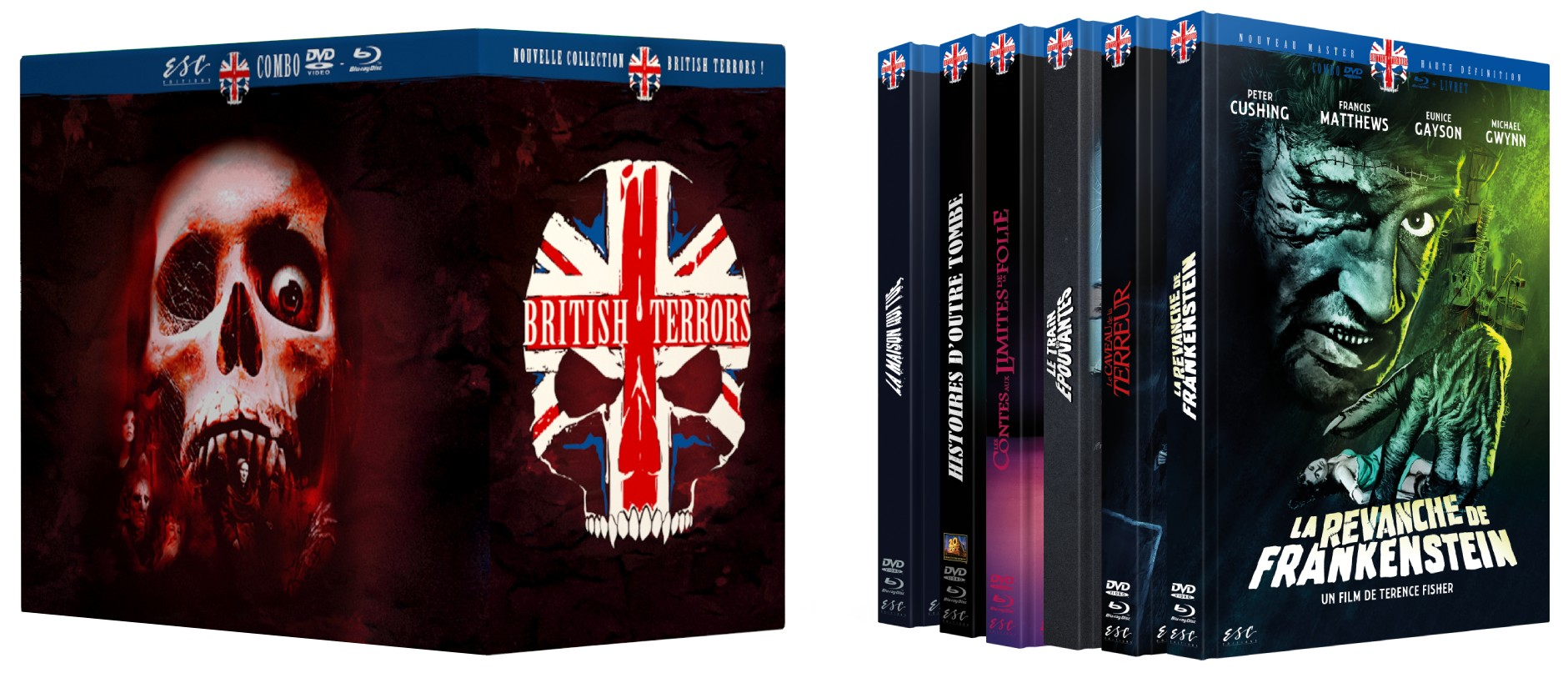 BOITE COLLECTOR BRITISH TERRORS
