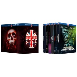PACK ULTRA COLLECTOR - 8 MEDIABOOKS BRITISH TERRORS [EDITION EXCLUSIVE LIMITÉE]