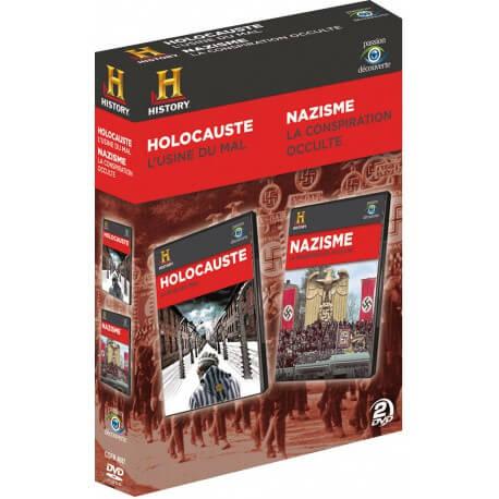HOLOCAUSTE, L'USINE DU MAL + NAZISME, LA CONSPIRATION OCCULTE