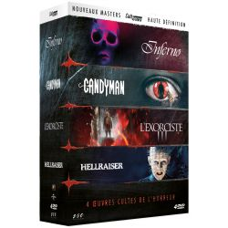 CULT'HORROR 2 - COFFRET 4 DVD