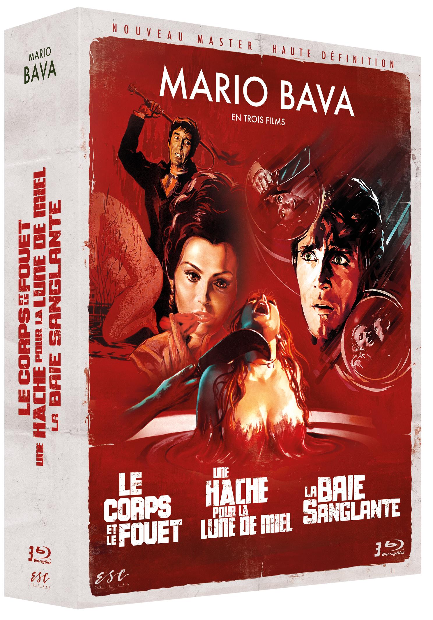 MARIO BAVA - COFFRET 3 BRD