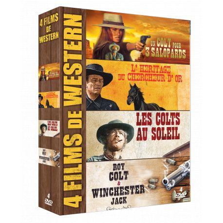 WESTERN - COFFRET 4 DVD