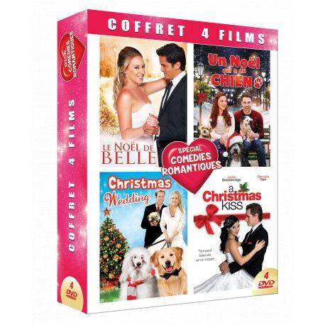 COMEDIES ROMANTIQUES  DE NOEL- COFFRET 4 DVD