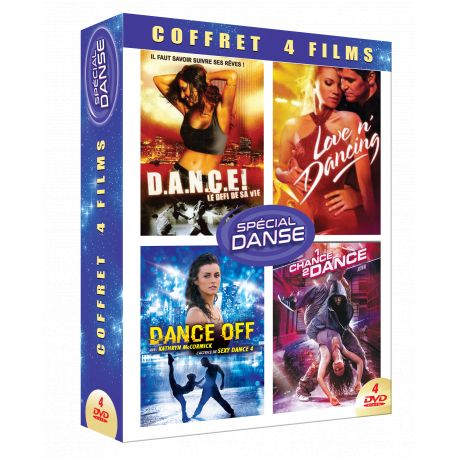 DANSE - COFFRET 4 DVD