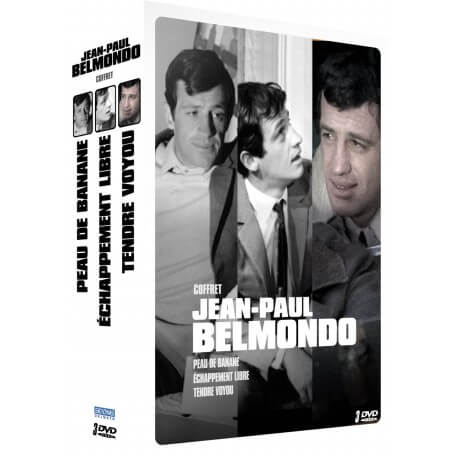 JEAN-PAUL BELMONDO - COFFRET 3 FILMS