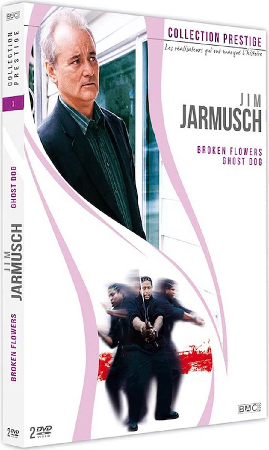 JIM JARMUSCH - COFFRET 2 DVD